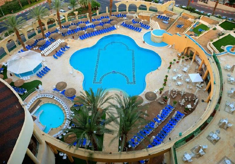 מלון דניאל ים המלח במבצע ישראכרט